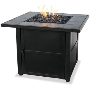 Blue Rhino Uniflame Steel Propane Fire Pit Table