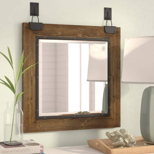 Coastal Farmhouse Malibu Modern And Contemporary Beveled Wall Mounted Mirror Reviews Wayfair
