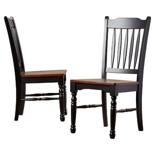 Shelburne Solid Wood Dining Chair (Set of 2)