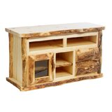 Lastrup Solid Wood TV Stand for TVs up to 65 by Millwood Pines