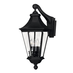 Best Senator 3-Light Outdoor Wall Lantern By Hinkley Lighting
