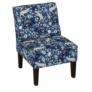Eliza Linen Upholstered Side Chair by World ..