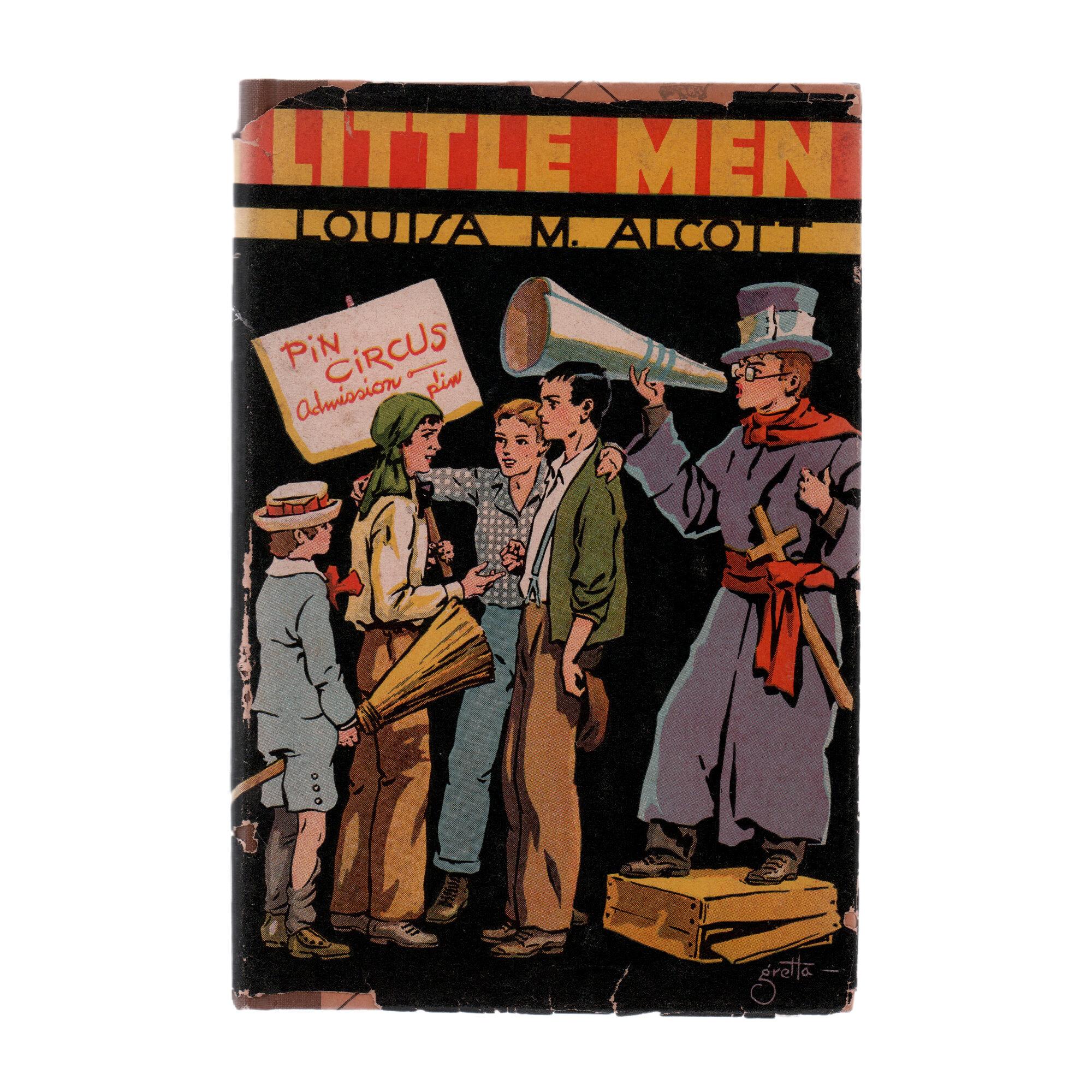 Booth Williams Little Men By Louisa M Alcott Authentic Decorative Book Perigold
