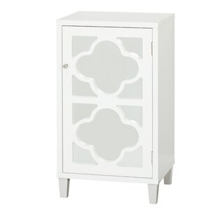 Cameron 1 Door Accent Cabinet by Bungalow Rose