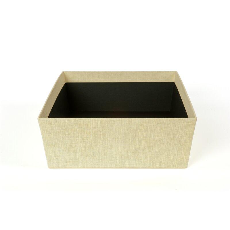 Black Bigso Soft Floor Storage Bin
