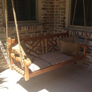 Chippendale Teak Porch Swing by Chic Teak