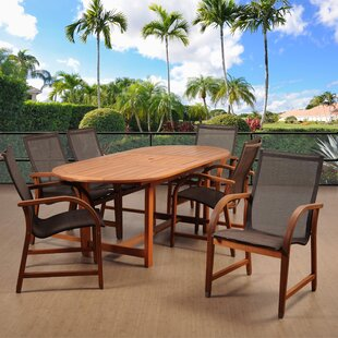 Beachcrest Home Hillsford 7 Piece Dining Set