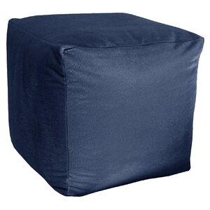 Majestic Plush Cube Pouf Ottoman