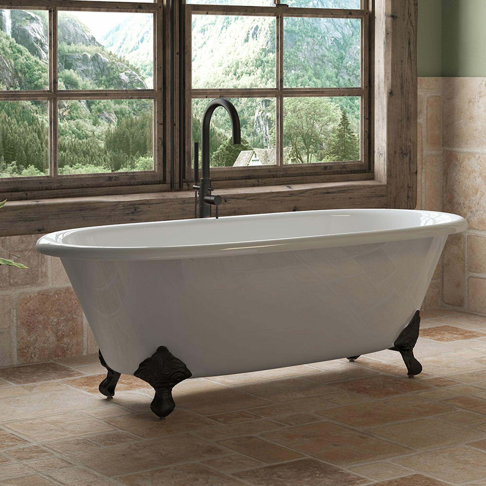 Cambridge Plumbing None 67 X 31 Clawfoot Bathtub Wayfair