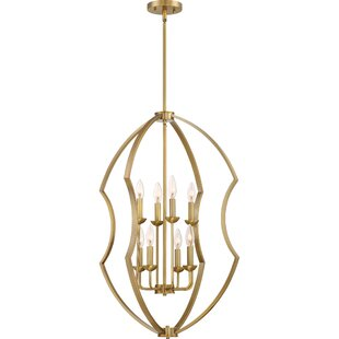 Marc 8-Light Foyer Pendant by Mercer41