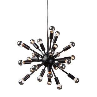 Brayden Studio Carmona 24-Light Sputnik Chandelier