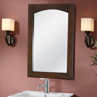 Best Reviews Siniard Arched Top Wall Mirror ByLatitude Run