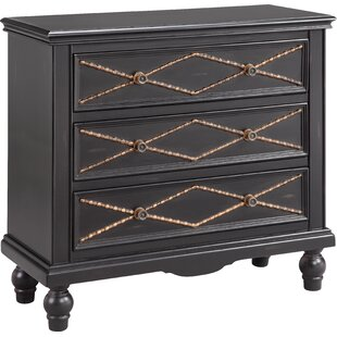 Seigle 3 Drawer Accent Chest by World Menagerie