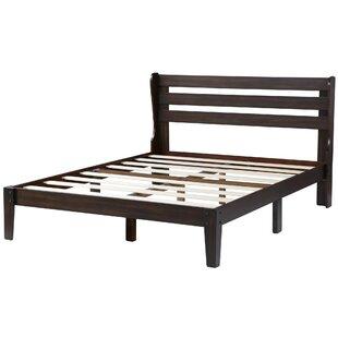 Elijah Wood Storage Platform Bed