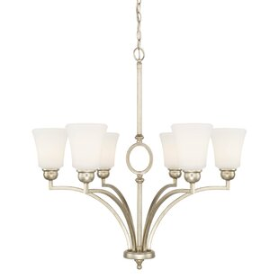 Find for Conklin 6-Light Shaded Chandelier By Three Posts