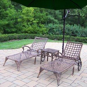 Thelma 3 Piece Lounge Seating Group Set b..