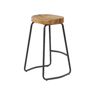 Heller Wooden 65cm Bar Stool By Williston Forge