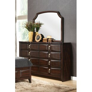 Robersonville 8 Drawer Double Dresser with Mirror by Red Barrel Studio