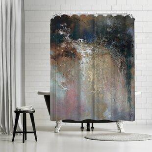 East Urban Home Anne Farrall Doyle Netting Shower Curtain