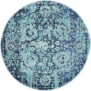 Charleena Blue Area Rug by Mistana
