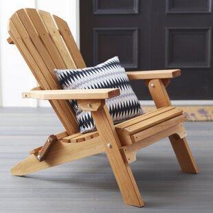 Tustin Solid Wood Folding Adirondack Chair