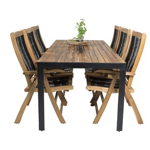 Review Stian 6 Seater Dining Set