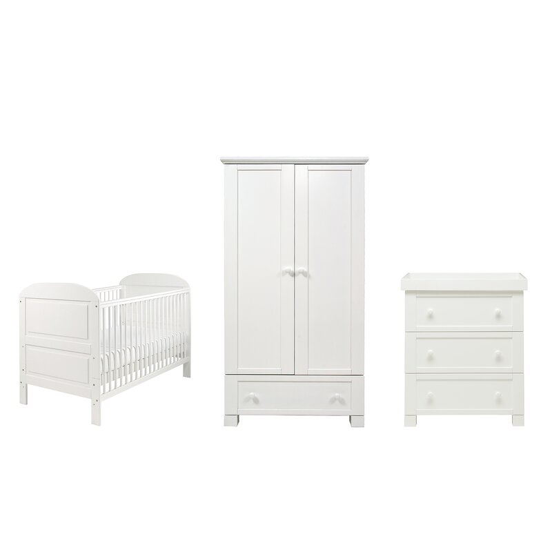 Harriet Bee Emeline Cot Bed 3 Piece