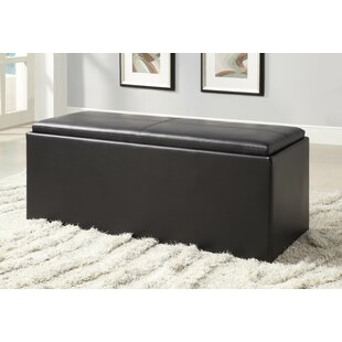 Blasey Upholstered Storage Bench by Woodhaven Hill