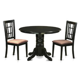 Sherlock 3 Piece Dining Set August Grove
