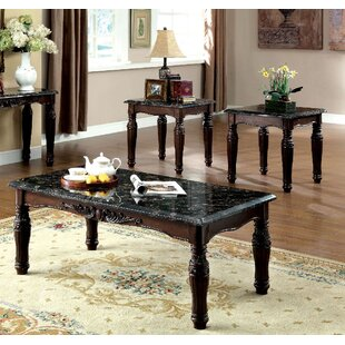Selimi 3 Piece Coffee Table Set