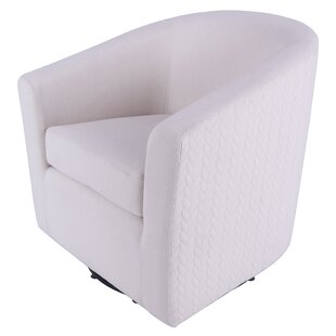 Teesha Swivel Barrel Chair..