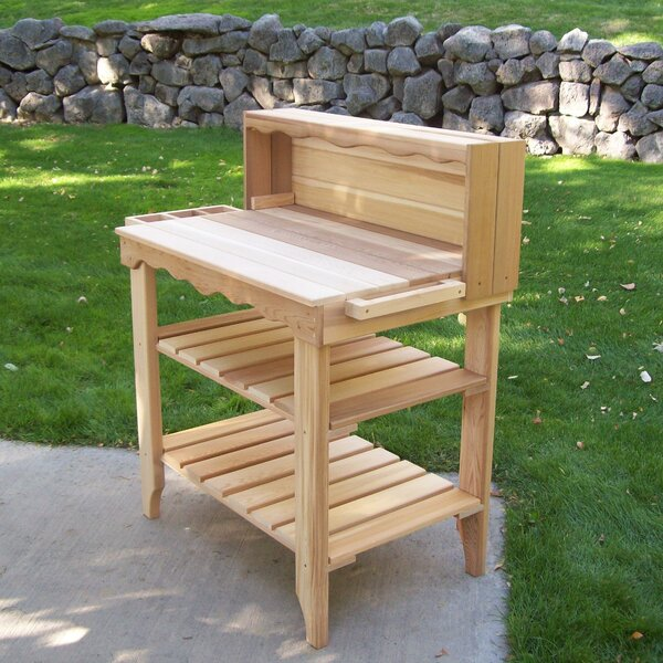 Potting Benches & Tables You'll Love | Wayfair