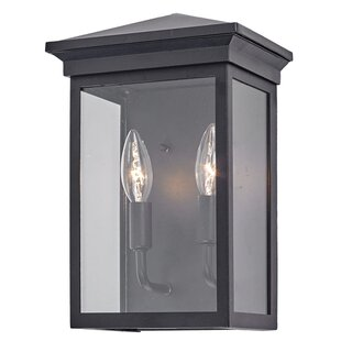 Gable 2-Light Outdoor Wall Lantern