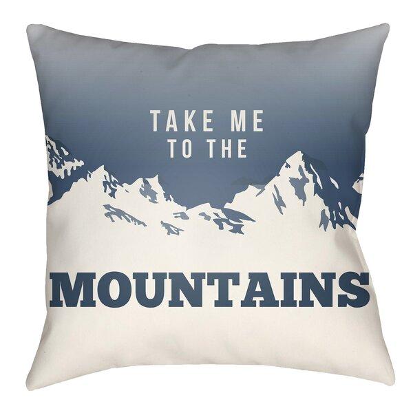 Union Rustic Liverman Mountain Indoor Outdoor Throw Pillow Wayfair