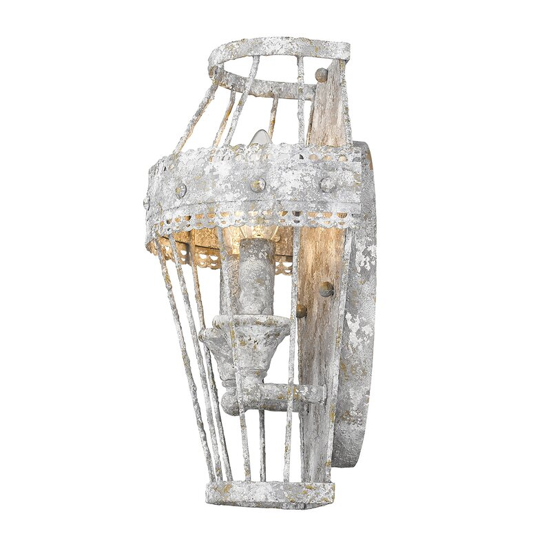Cleo 2-Light Armed Sconce - a beautiful lighting option for your French country interior!