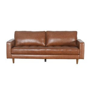 Drumheller Leather Sofa Corrigan Studio
