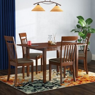 Phoenixville 5 Piece Extendable Dining Set by Three Posts Bargain