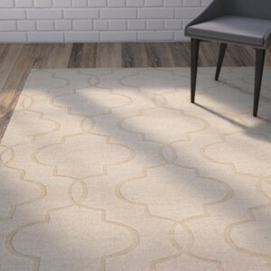 Villegas Hand-Woven Ivory Area Rug