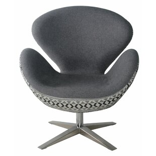 Leddy Swivel Lounge Chair by Brayden Studio