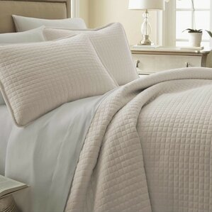 Modern Ivory & Cream Bedding Sets | AllModern : ivory king quilt - Adamdwight.com