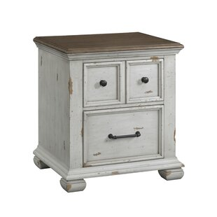 Schutz 2 Drawer Nightstand