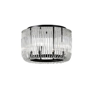 Francessca 4-Light Flush Mount By CWI Lighting