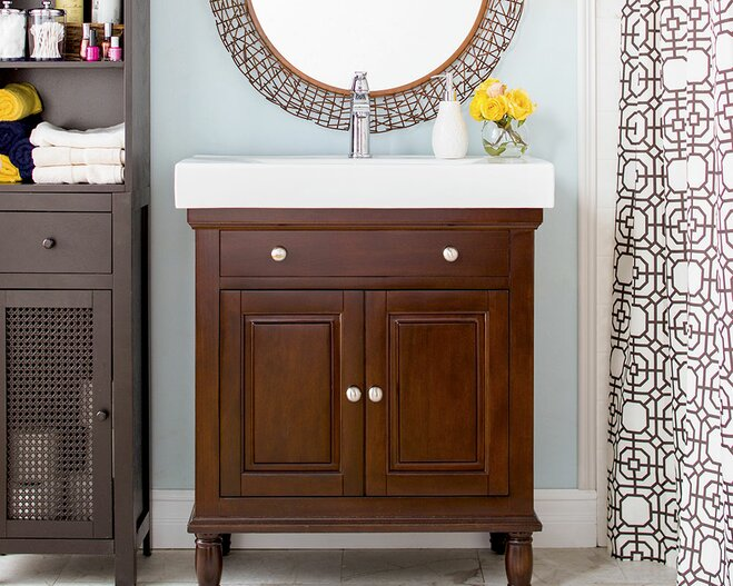 Delicieux Whether Youu0027re Renovating An Existing Bath Or Starting From Scratch,  Choosing A Bathroom Vanity Can Be Daunting. To Find One Thatu0027s Right For  You And Your ...