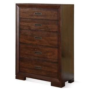 Loon Peak Lancaster 5 Drawer Chest