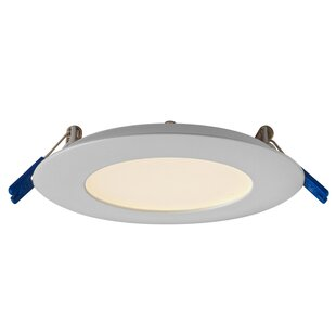 Round Panel LED Recessed Lighting Kit by DALS Lighting