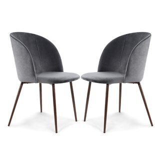 Aadhya Upholstered Dining Chair (Set of 2) by Mercer41