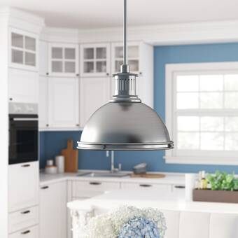 Joss Main 1 Light Single Teardrop Pendant Reviews Wayfair
