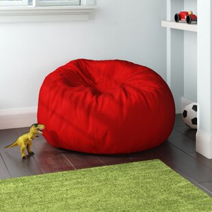 Oversized Solid Bean Bag Chair by Viv + Rae