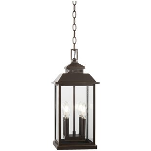 Alcott Hill Helms 4-Light Outdoor Hanging Lantern