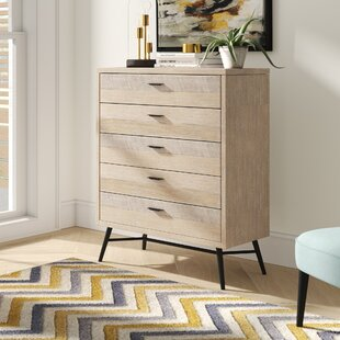 Laquita 5 Drawer Chest by Brayden Studio Sale